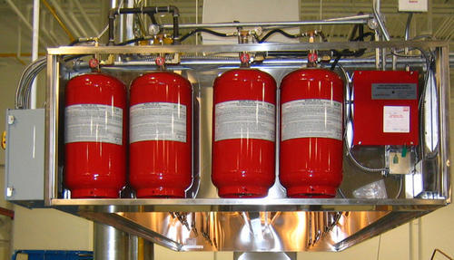 Fire suppression systems Installations
