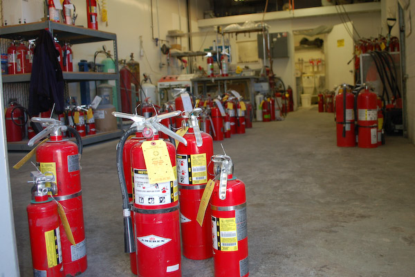 Fire Extinguishers Services and Sales